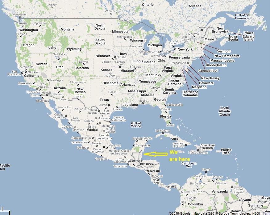 Map Of Caribbean Sea Rocky Shores Resort - Caribbean sea map